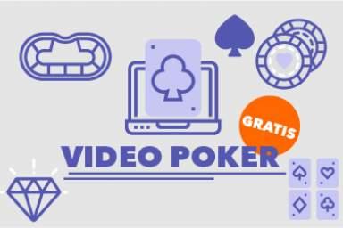 Guía de vídeo póker online gratis + Mejores juegos