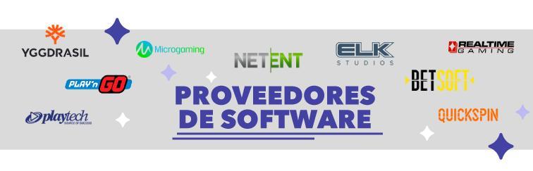 Proveedores de Software