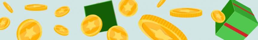 Monedas y regalos